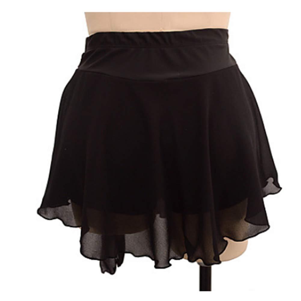 noir XL HUAYANGNIANHAU Le Costume de Patinage Artistique de Fille de Robe de Patinage Artistique de Fille Peut être la Couleur et la Taille adaptées aux Besoins du Client