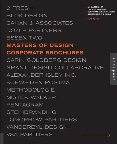 (Masters of Design: Corporate Brochures)