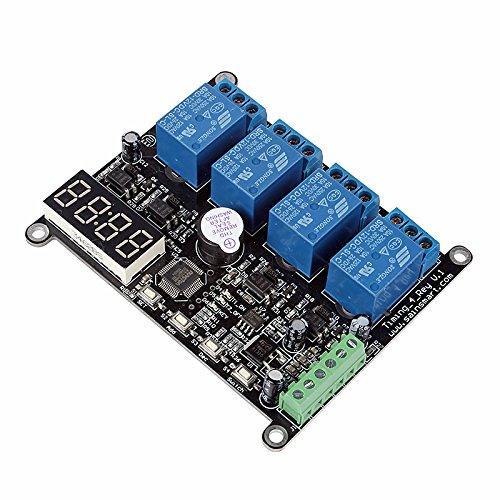 SainSmart 4 Channel RS485 DC 12V Delay Timer Switch
