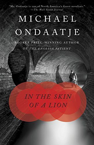 Book cover from In the Skin of a Lion by Michael Ondaatje
