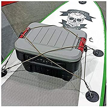 Jieming RackNet Series PackNet Backpack Extension Bungee Cars Jeeps UTVs Boats. Green 6 PackTachs /& 6 Aluminum Carabiners Include Compatibility with Any Rack That can be Used on ATVs