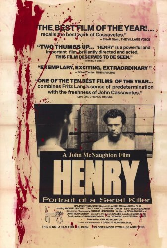 (Henry: Portrait of a Serial Killer 11 x 17 Movie Poster - Style A)