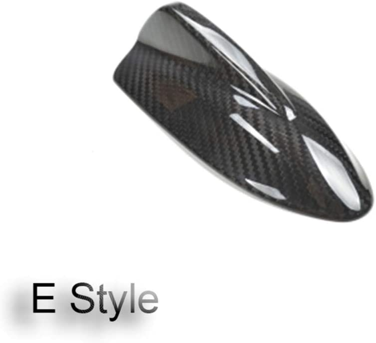 WQSNUB Carbon Fibre Aerials Car Shark Fin Antenna,for Alfa Romeo Mito Giulia Giulietta Car Styling External Decoration