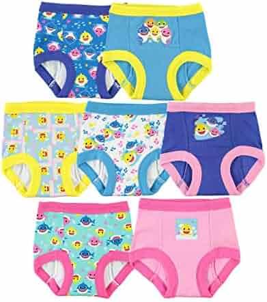 Muppet Babies Girls 7-Pack Training Pants Underwear Toddler Little Kid Infant Baby Piggy Kermit Animal Gonzo