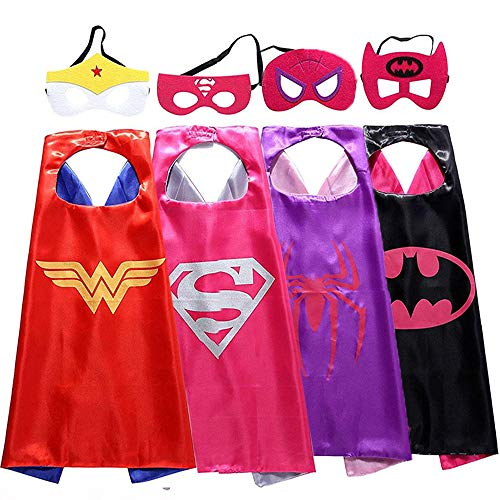 Christmas Toys for 3-10 Year Old Girl,Superhero Cape