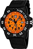 Luminox Men's 'SEA' Swiss Quartz Stainless Steel and Rubber Casual Watch, Color:Black (Model: 3509.SC.Set)