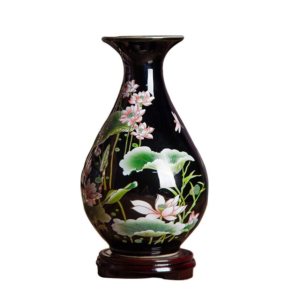 ビンテージ花瓶 花瓶ヴィンテージセラミック花瓶装飾リビングルームフラワーアレンジメント現代中国の家テレビキャビネットワインキャビネットの装飾磁器ボトル Xuan - worth having (色 : 5) B07RRNRFSS 5