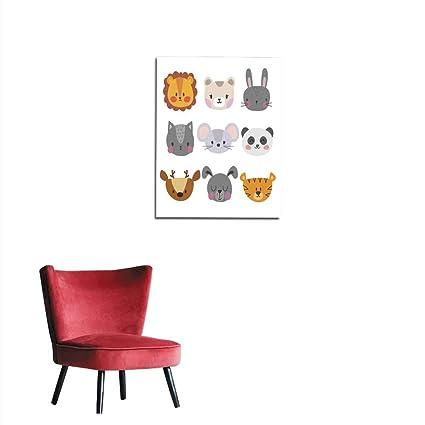 Miraculous Amazon Com Longbuyer Wall Sticker Decals Set Of Cute Hand Inzonedesignstudio Interior Chair Design Inzonedesignstudiocom