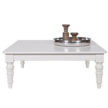 Table Basse Qwint Table De Salon Style Maison De Campagne 100 X 100