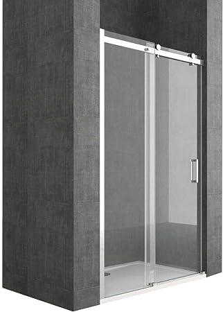 Porte paroi douche 120 CM H198 mod Young 1 Porte Transparent