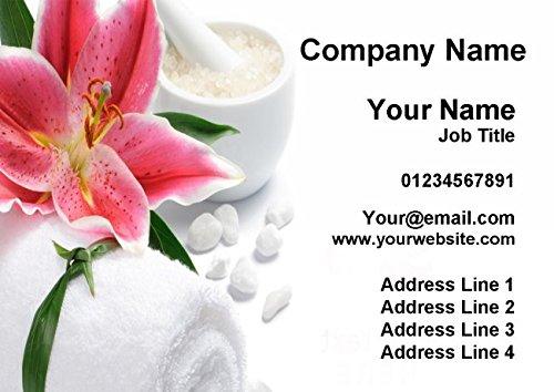 Massage Treatment Spa Beauty Salon Personalized Business Cards