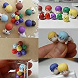 Bestsupplier 32 PCS DIY Colored Clay, Colorful Fimo Effect Polymer Clay Soft Moulding Craft Oven Bake Clay Sampler Creative Fun