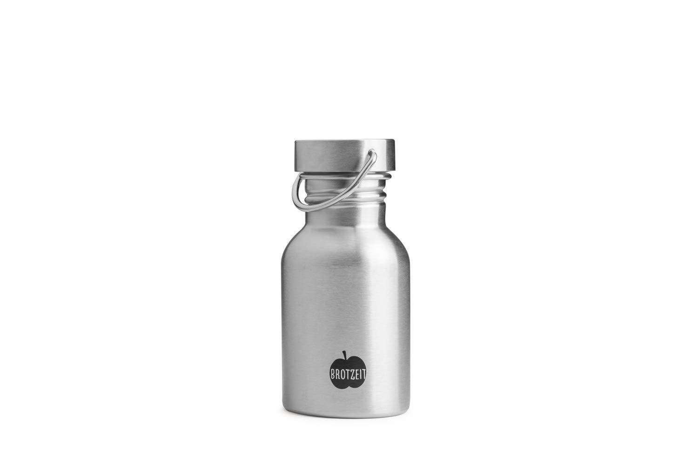 Brotzeit Trinkflasche aus einwandigem Edelstahl plastikfrei und vollst/ändig BPA-frei Ocean Free, 0,75 Liter
