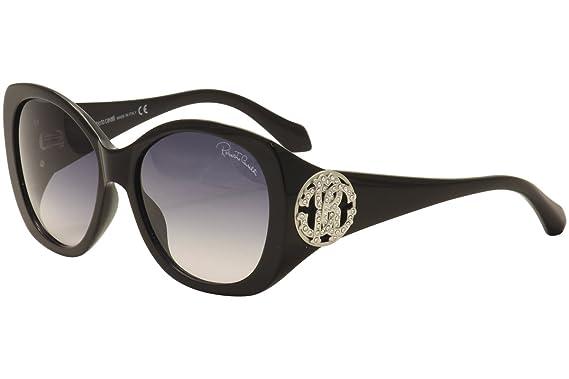 Amazon.com: Roberto Cavalli – Gafas de sol, Color negro ...