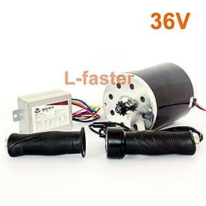 Amazon.com: 36 V48 V 1000 W unitemotor my1020 Motor con ...