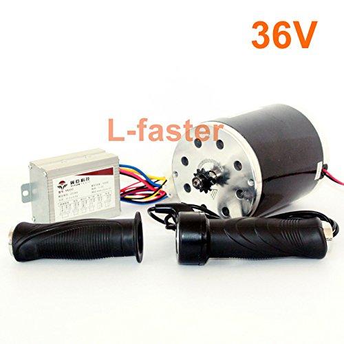 36v48v 500ワット電動高速モーターキット電動スクーターunitemotor変換キットe300s mx350交換モーターアップグレードセット [並行輸入品] B078KTY52W 36V normal kit 36V normal kit