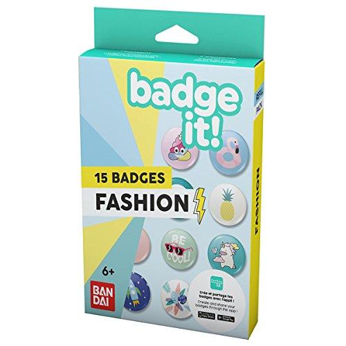 Bandai Badge It Refill-Fashion, 35411