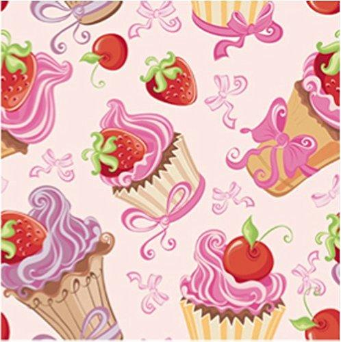 Muffin Papierservietten Törtchen Dekoservietten 20 Stk Motivservietten Cupcake