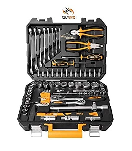Amazon.com: Tools Centre Ingco 77pcs Garage Tools Set, Garage Tool Set, Combination Spanner Set Complete Automobile & Garage Tool Kit.: Home Improvement