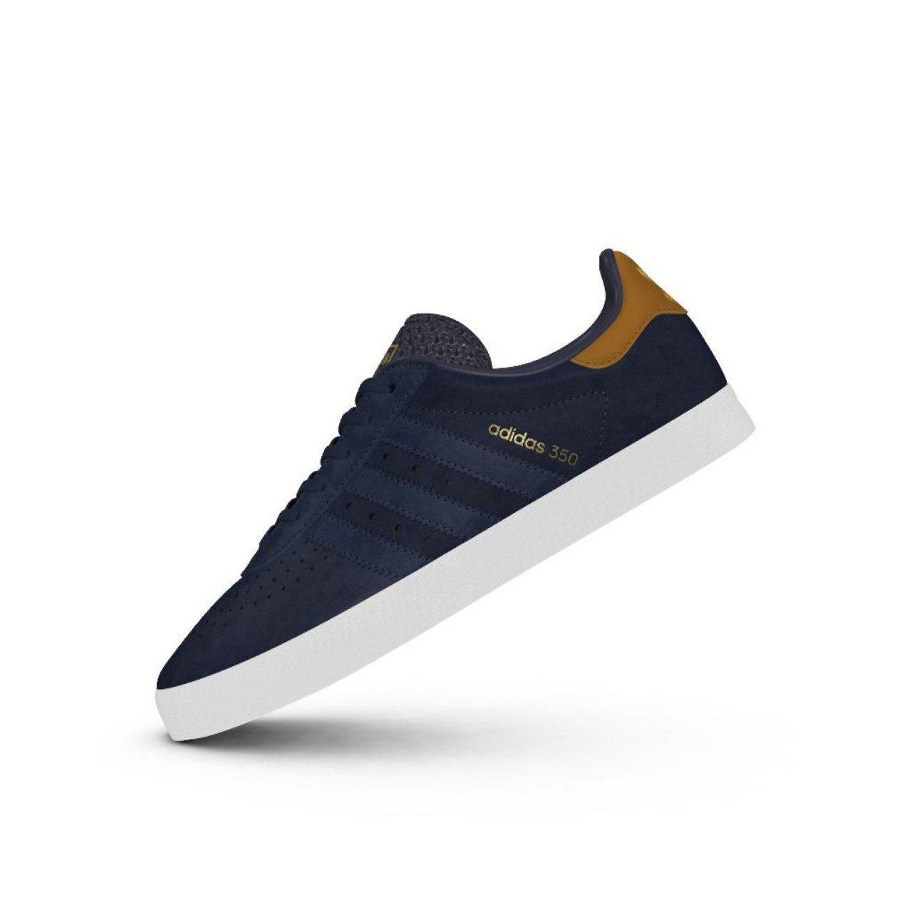 Adidas Originals Herren Herren Herren 350 Turnschuhe Schuhe -Marine 62be6f