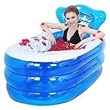 Sunhai& Inflated Bathtub Thicker adult bathtub fold Bath tub child Wash basin plastic Bath barrels