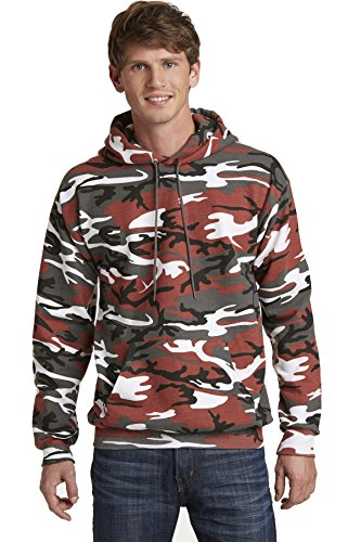 Camouflage Pullover Hooded Sweatshirt - 6