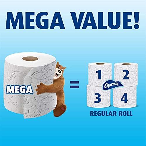 Chatherine Ultra Suave Papel Higiénico 3 Pack De 6 Mega Rollos Paquete De 18 Health Personal Care