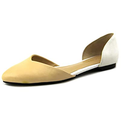Cole Haan Crissy Skimmer Sandstone/ivory Leather Flat D42733 Women Size 6 M