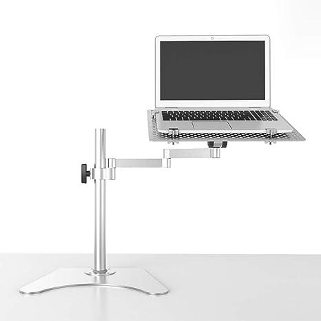 Nclon Mesa Ordenador Portatil,Portátil de Aluminio Ajustable Escritorio del Ordenador portátil Alfombrilla de ratón