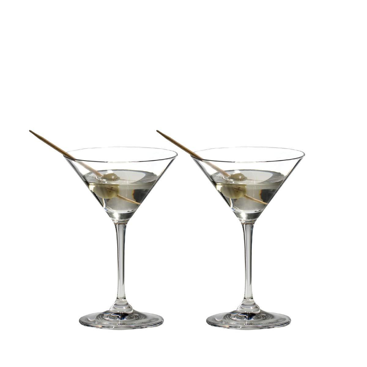 Riedel VINUM Martini Glasses, Set of 2