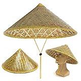 Marketworldcup- Oriental Vietnamese Coolie Straw Bamboo Sun Hat Farmer Fishing Rice Hat
