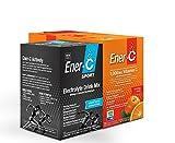 Ener-C Sport Bundle Pack (30 Orange & 12 Mixed Berry) Effervescent Electrolyte Supplement Gluten-Free Powdered Real Fruit Drink Mix, 1000mg Vitamin C, Caffeine-Free Replenishment & Hydration