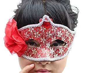 Mask Performance Show a Halloween Party(red)