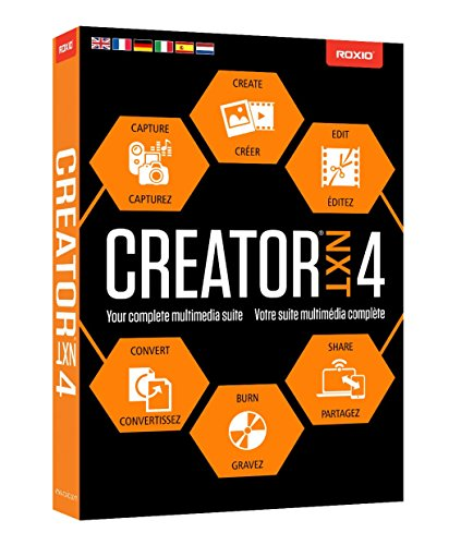 Roxio Creator NXT 4 [Old Version] (Cd Pro Photo)