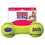 Salud Y Belleza Best Deals - Kong Company ASDB2 Air Kong Squeaker Dog Toy-MED AIR KONG DUMBBELL