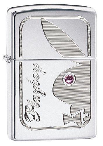 Crystal Eye Bunny (Zippo Playboy with Crystal Pocket Lighter)