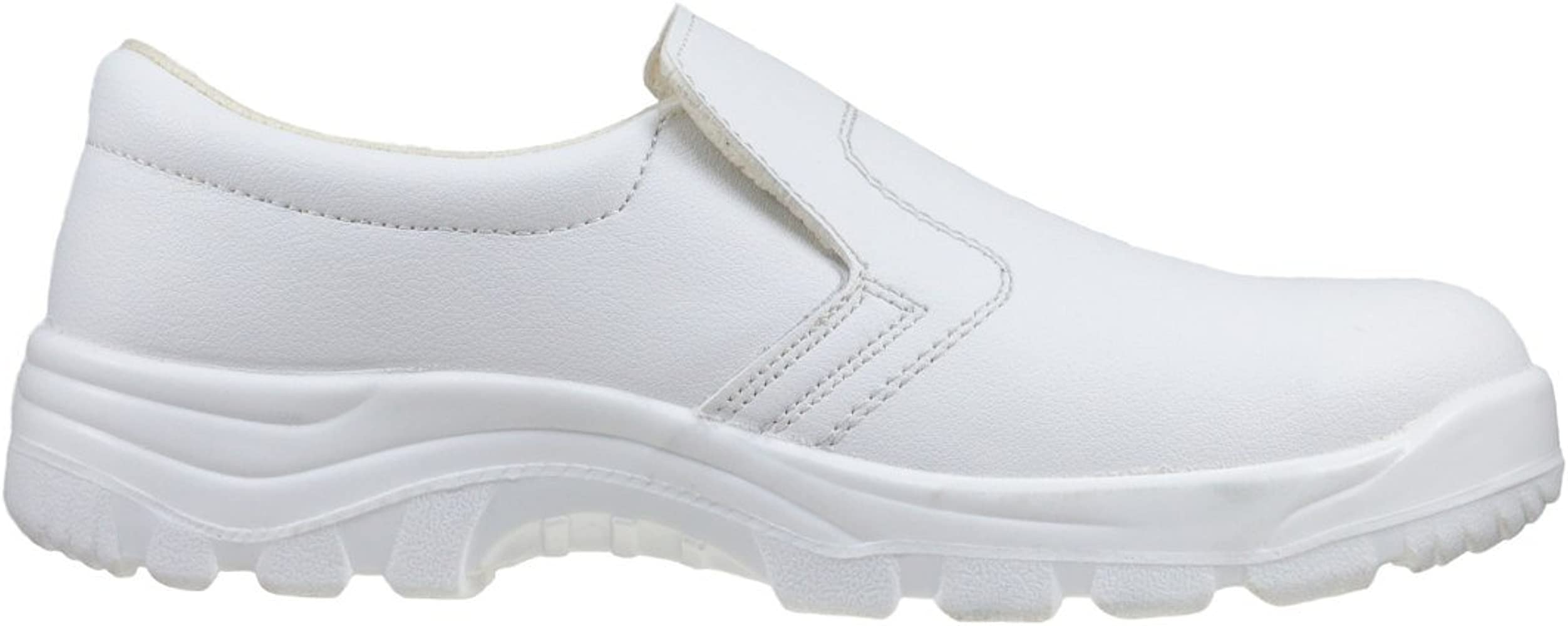 White Safety Shoes Metal Toe Cap Anty