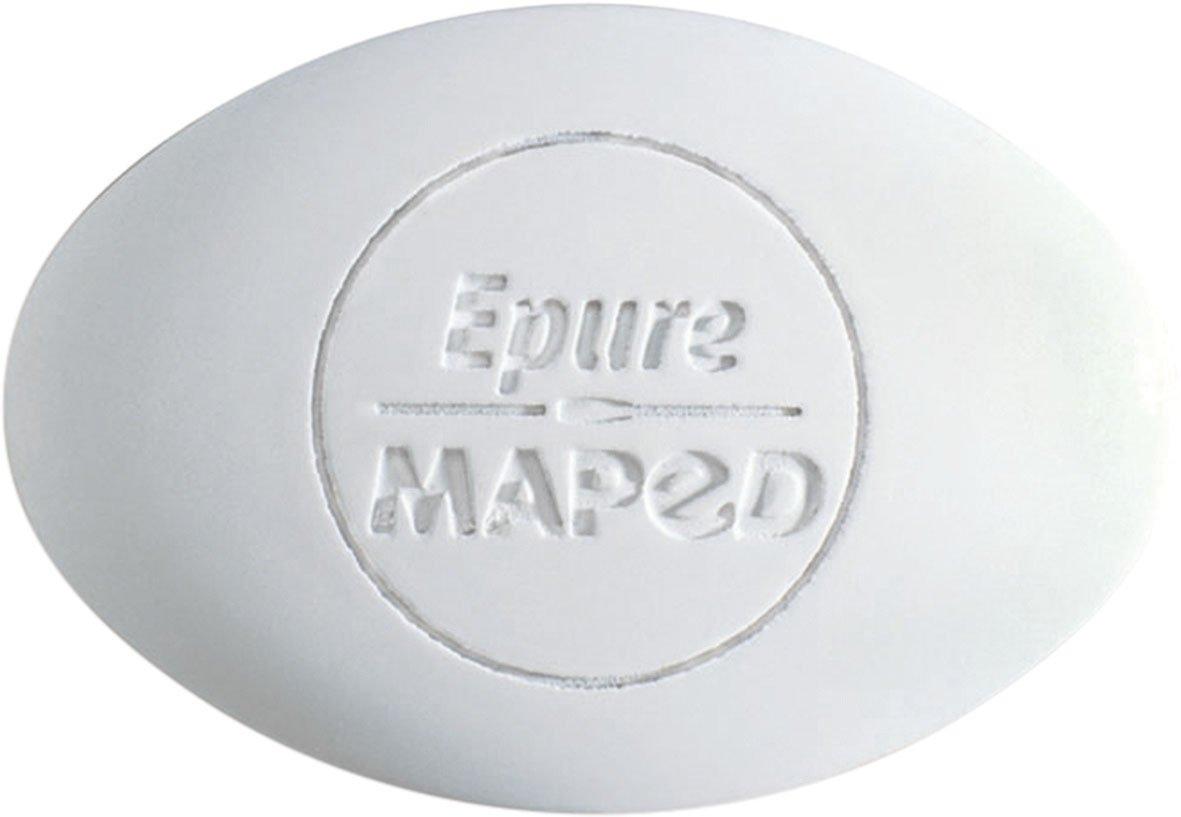 Maped Radiergummi Epure/M010050 weiß oval 59115 hz170100506