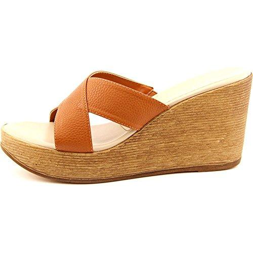 Athena Alexander Womens Reena Open Toe Casual Platform Sandals Saddle cdo51V