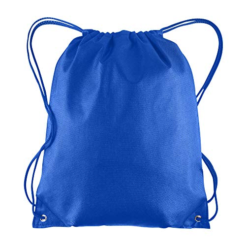 - Pack of 25 - Non-Woven Promotional Drawstring Bags - Drawstring Backpack in BULK - String Backpack - String Bag - Drawstring Tote Bag - Cinch Bag - 13.5