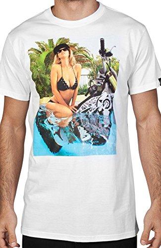 Unit Men's Pee Wee T Shirt White 3XL (Unit T Shirt compare prices)