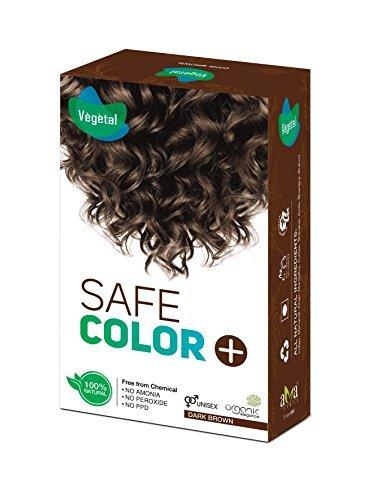 Vegetal Safe Color 50GM (Dark Brown)