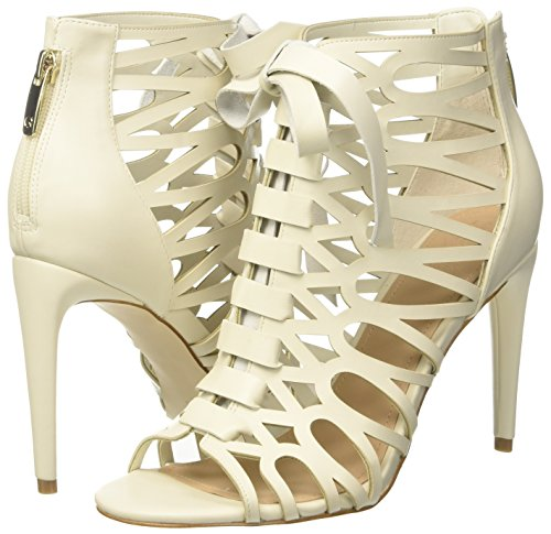Dietro La Con Footwear Avorio Scarpe Caviglia Shootie Guess ivory Dress Cinturino Col Donna Tacco 8wYCzd