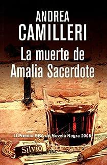 La muerte de Amalia Sacerdote par Camilleri
