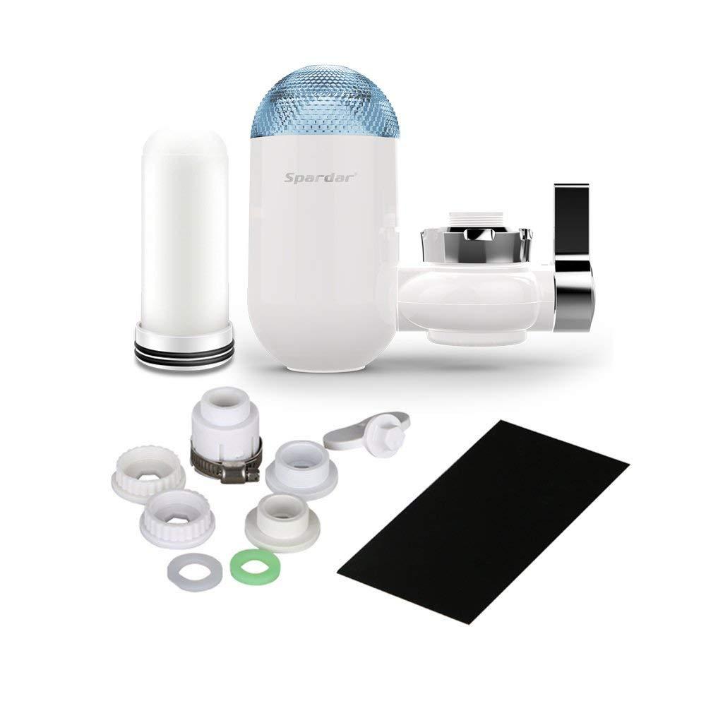 08 Faucet Filters Spardar Faucet Water Filters,Kitchen /& Bath Tap Water Filter Multi Layer Ceramics Filter Cartridge