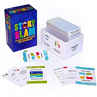Story Slam - Hundreds of Cards with More Than 600 Unique Story Concepts, for Endless Storytelling Fun.