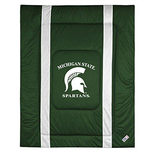 Comforter Texas Sidelines (NCAA Michigan State Spartans Sideline Comforter Queen)