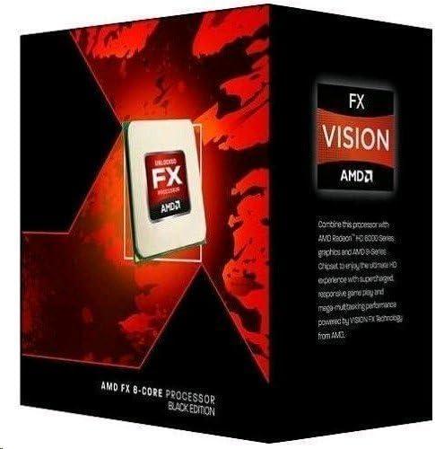 Amazon Com Amd Fd832ewmhkbox Fx 8320e Eight Core Vishera Processor 3 2ghz Socket Am3 Re Computers Accessories
