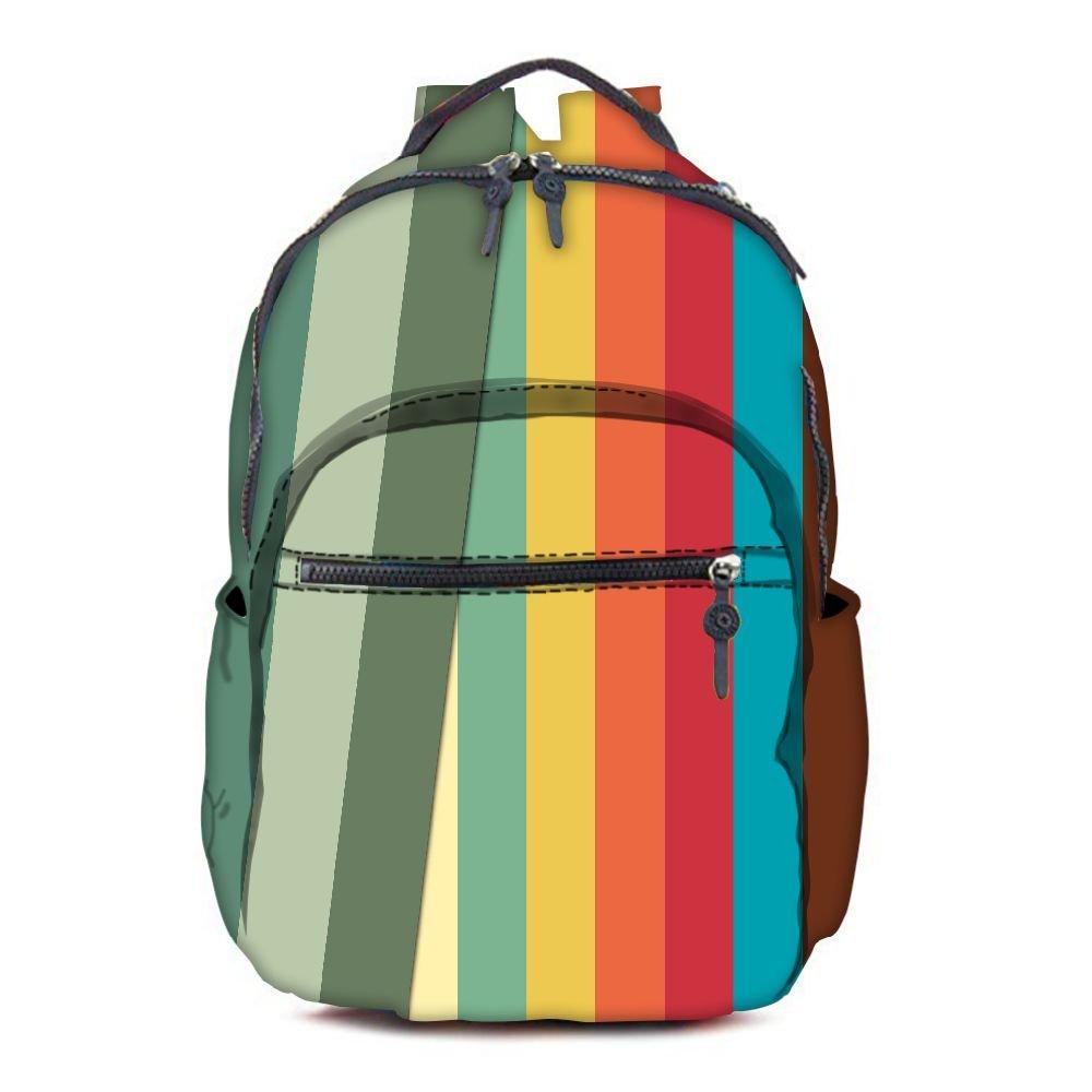 Snoogg Bolso escolar, multicolor RPC-7438-AOPBKPAK (multicolor) - RPC-7438-AOPBKPAK multicolor 7c95e2