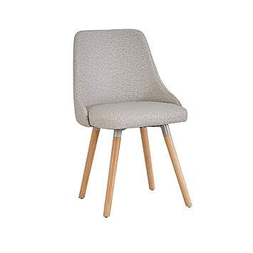 LRZS Furniture Chaise Eames En Bois Creatif Ordinateur Moderne Minimaliste Tabouret De Dossier